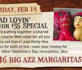 Mad Lovin' – MadMex Valentine's Day Special