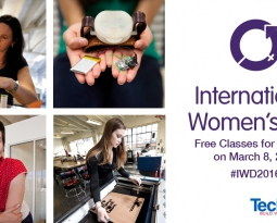 Free Classes for Women at TechShop on March 8