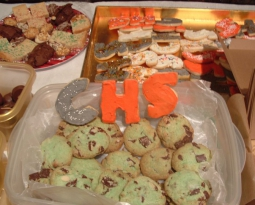 The (Christmas) Cookie Table For a Good Cause This Wed at Hough's