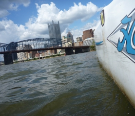How John Norton sails The Point and the three rivers… and survives