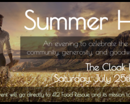 Summer Harvest: Come Support 412 Food Rescue and Help Fight Hunger in Pittsburgh