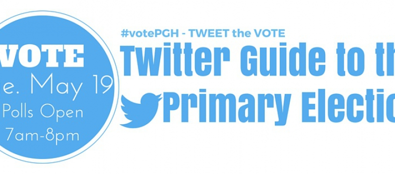 Tweet the Vote – Twitter Guide to the Primary Election