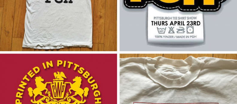 A brief history of IheartPGH the t-shirt, the blog & the PGH t-shirt show