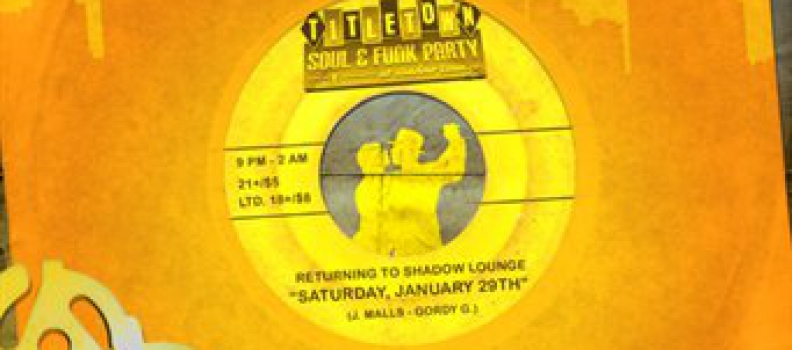 Super Steelers Soul Party! Title Town Dance Party at The Shadow Lounge