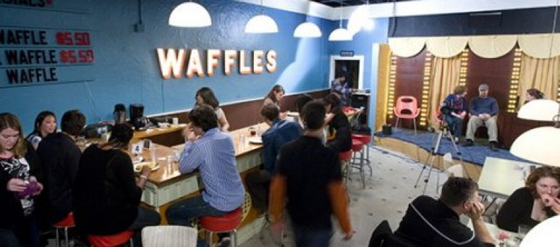The Food Network Stops at The Waffle Shop TONIGHT!